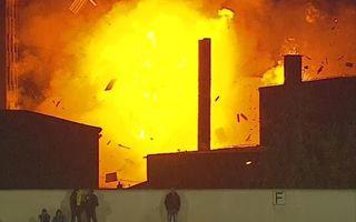 Rumunia: Szokujący wybuch przy stadionie w Braszowie (video)