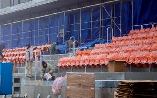 """Nieciecza: Pomarańczowe abacusy już zamontowane u """"Słoników"""""""