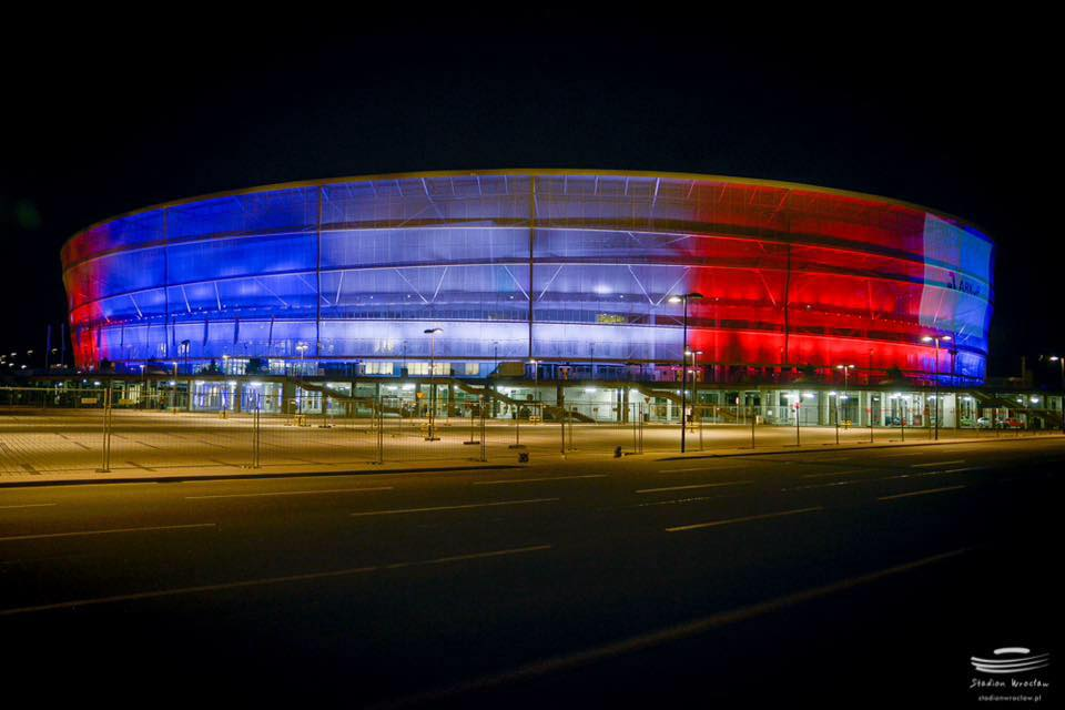 French stadiums world-over