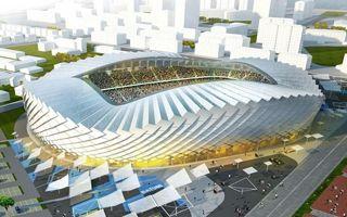 Nowy projekt: Tańczący stadion z Batumi