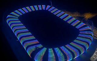 Stambuł: Niezwykła iluminacja mało znanego stadionu