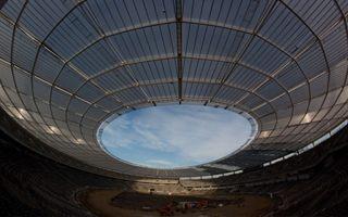 Chorzów: Dach Śląskiego gotowy, wreszcie!