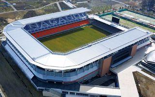 Nowe stadiony: Pięć stadionów, trzy ligi