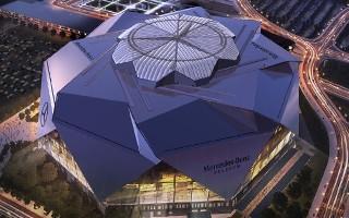 Atlanta: Stadion Falcons ma kwartał poślizgu