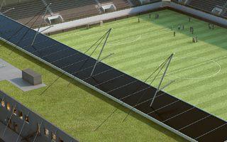Szwajcaria: Mały stadion, duża elektrownia na dachu