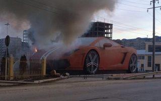 Rosja: Spłonął przedziwny pomnik pod stadionem Anży