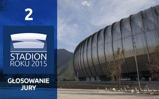 SR 2015 Głosowanie Jury: Drugie miejsce – Estadio BBVA Bancomer
