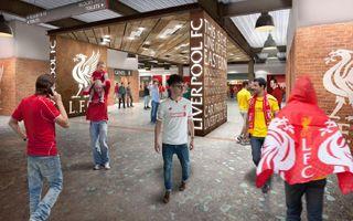 Liverpool: The Reds pokazali industrialne wnętrze Anfield