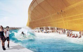 USA: Stadion z fosą i plażą ma być przełomem w NFL