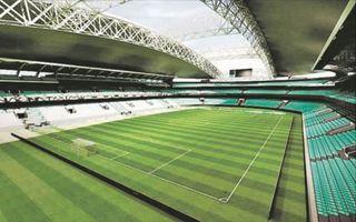 Belgrad: Stadion narodowy Serbii w dzielnicy Zemun