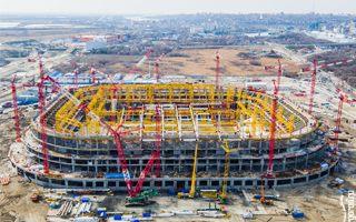 Rosja 2018: Wielki postęp w Rostowie, budowa rośnie szybko