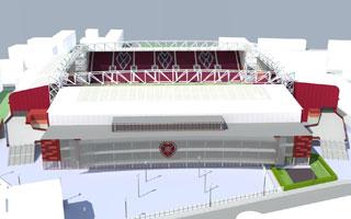 Edynburg: Hearts mają już połowę pieniędzy na rozbudowę