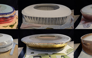 Barcelona: Zobacz siedem odrzuconych koncepcji Camp Nou!