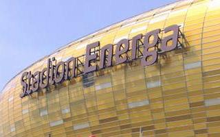 Gdańsk: Stadion Energa wreszcie z logotypem