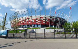 Narodowy: Będzie betonowy mur wokół stadionu