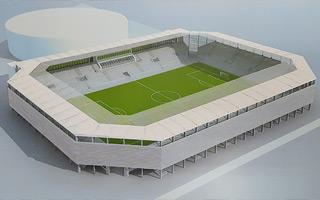 Nowy projekt i budowa: Stadion Radomiaka nie będzie tak wyglądał