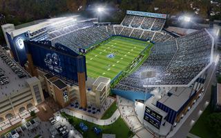 Nowy projekt: To będzie czołowy uniwersytecki stadion Wschodniego Wybrzeża