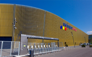 Szwajcaria: Złota arena będzie produkować energię