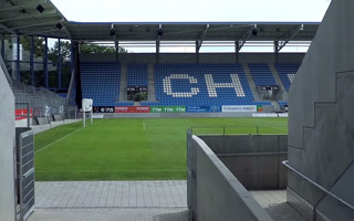 Nowy stadion: Nowy dom przy Gellertstraße