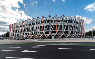 Białystok: Trudne początki nowego stadionu