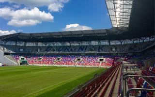 Zabrze: Stadion gotowy, choć bez części parkingów