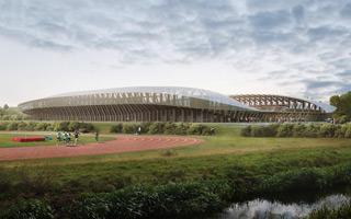 Nowy stadion i projekty: Ekologiczne jak krowie odchody