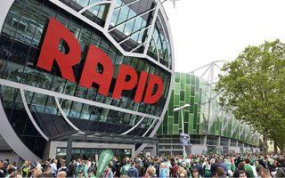 Nowy stadion: Rapid właśnie się zadomowił