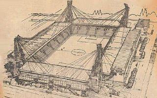 Warszawa: Legia mogła mieć stadion dla 45 tysięcy