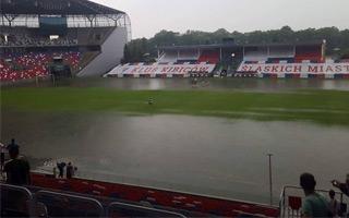 Zabrze: Arena zalana, siłownia nieczynna