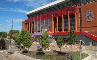 Liverpool: Drzewa ze Szwarcwaldu na Anfield