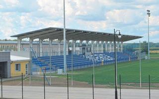 Podlaskie: Stadion w Wysokim Mazowieckim już z dachem