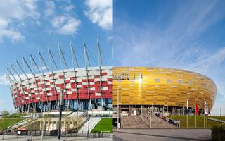 Świat: Dwa polskie stadiony wśród najbardziej imponujących