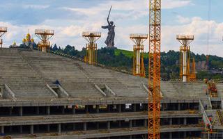Rosja 2018: Trybuny w Wołgogradzie postawione w pół roku!
