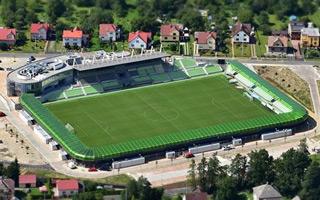 Nowy stadion: Karwina pierwszy raz piłkarska