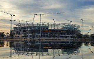 Australia: Perth Stadium za półmetkiem