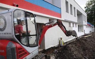 Opole: Na razie tylko remont budynku klubowego