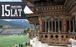 Nowy stadion: Narodowy Bhutanu po królewsku