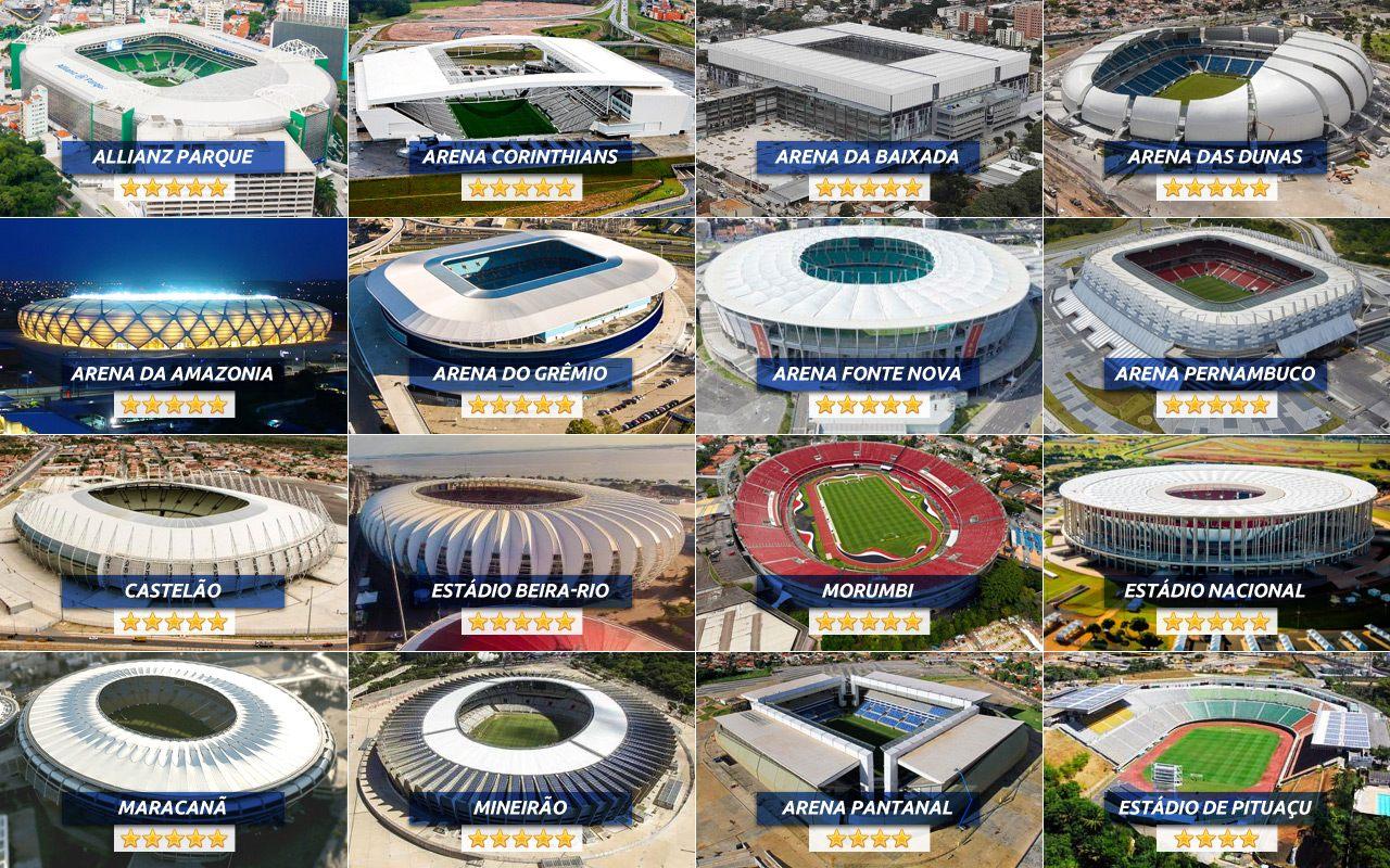 Brazilian stadiums