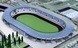 Łódź: Stadion Orła oficjalnie w budowie