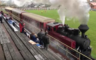 Nowy stadion: Tak, przejeżdżają przez niego pociągi