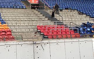 Amsterdam: Ajax instaluje pierwsze miejsca stojące