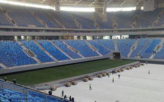 Sankt Petersburg: Murawa pierwszy raz wjechała na Zenit Arenę