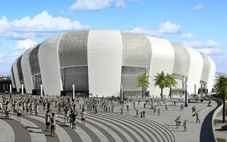 Brazylia: Atletico Mineiro koryguje plany stadionu