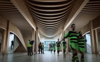 Anglia: Zaha Hadid postawi piękny drewniany stadion