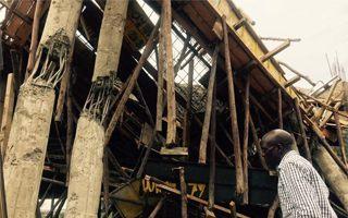 Kenia: Runęła część stadionu, budowa wstrzymana