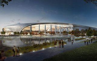 Nowa budowa: Pierwszy stadion za 11 miliardów!
