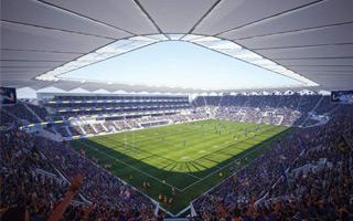Nowy projekt: Najbardziej stromy stadion Australii