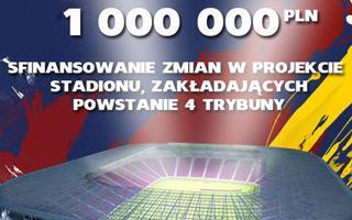 Szczecin: Pogoń prosi kibiców o milion złotych