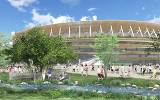 Tokio: Olimpijski oficjalnie w budowie