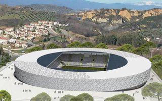 Nowy projekt: Stadion-dysk z Kalabrii